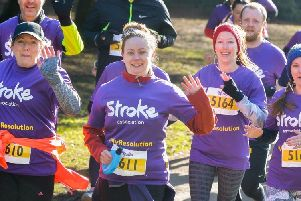 Taking part in the Stroke Association's Resolution Run 2019 could reduce your risk of stroke by 20 per cent, according to a leading physician SUS-190801-154726003