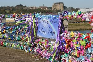 Tributes laid to those who died in the airshow tragedy
