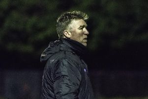 Burgess Hill Town boss Simon Wormull. Picture by Chris Neal.