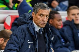 Chris Hughton. Picture by PW Sporting Photography.