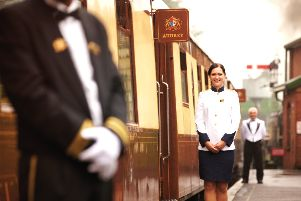 The British Belmond Pullman train will run a special service from Horsham in May 2019 in aid of the St Catherine's Hospice SUS-180919-101850001
