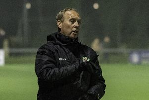 Burgess Hill Town assistant manager John Rattle. Picture by Chris Neal.