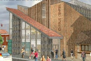 An artist's impression of the new Burgess Hill arts centre SUS-190314-151103001