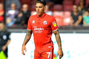 Crawley Town's Reece Grego-Cox. Picture by Steve Robards.
