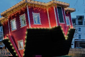 The Upside Down House in Bournemouth