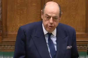 Sir Nicholas Soames speaking in the Commons (Parliament.tv).