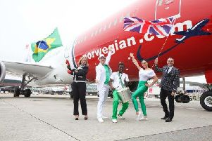Norwegian has started its first flights to Brazil from Gatwick Airport