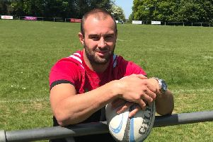 Ross Chisholm, 1st XV Lead Coach at Heath, marked 100 appearances for Harlequins last weekend