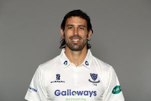 David Wiese was top scorer in Sussex's opening innings of the season / Picture by Getty Images