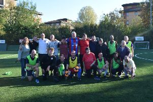 Anyone can join the Move the Goalposts programme at The Triangle in Burgess Hill. Photo contributed