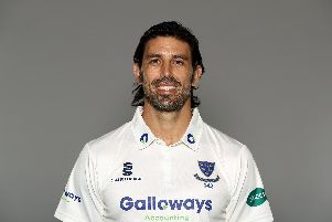 David Wiese's wickets put Sussex on top / Picture by Getty Images