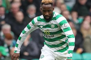 Moussa Dembele in his Celtic days (Photo by Ian MacNicol/Getty Images)