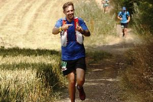 Using Strava helped keen runner Craig Lea to make new friends after he and his wife moved to the country. Picture: Mauricio Mendes