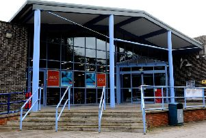 The Dolphin Leisure Centre , Haywards Heath. Pic Steve Robards  SR1620982 SUS-161207-173134001