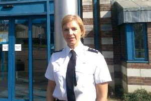 Chief Inspector Rosie Ross - district commander for Crawley and Mid Sussex - posted about the incident on Twitter