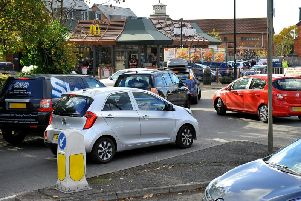 Residents have complained for some time about traffic issues at McDonald's in Burgess Hill. Photo by Steve Robards