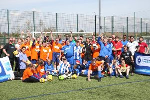 More than 40 people of all ages and abilities attended the annual event