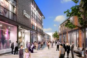 An artist's impression of the Burgess Hill town centre redevelopment. Picture: NewRiver