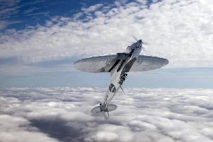 What the silver spitfire will look like