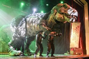 Dinosaur World Live. Picture by Robert Day