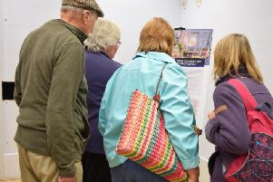 Residents at the open day in Burgess Hill on Saturday (May 18)