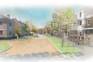 Illustrative artist's impression of scheme for 500 new homes in Hassocks SUS-190614-135329001
