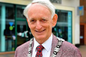 New Burgess Hill mayor Roger Cartwright. Photo by Steve Robards