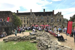 Thousands flocked to Battle for the filming of BBC One's Antiques Roadshow
