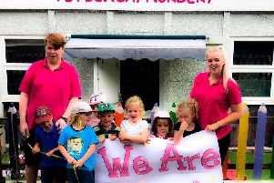 The Ofsted report rated the nursery 'Outstanding'.