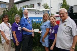 The fundraising evening held by the Burgess Hill District Lions raised �400 for Chalkhill