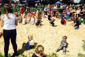 National Play Day was celebrated in Corby with a fun, free event at West Glebe Park attanded by hundreds of families NNL-140808-121725001