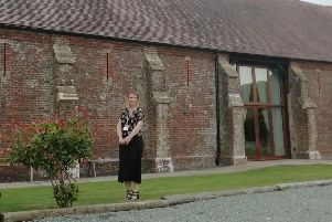 Venue manager Vicki Lamont at Long Furlong Barn in Clapham