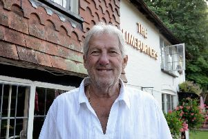 Chip Sawyer whose family have run the Limeburners pub for the past 63 years. Photo: Kate Shemilt