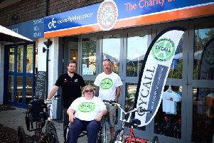 Ditchling shop donate bikes for disabled people