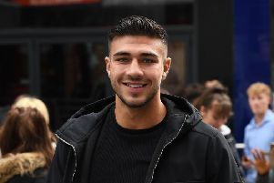 Tommy Fury is coming to Hastings. Photo by Ricky Vigil/GC Images