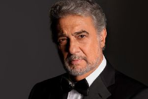 Plcido Domingo by Greg Gorman