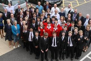 Launch of Stem Challenge at Mid Sussex District Council. Photo by Derek Martin Photography