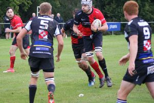 Heath won their fourth game in a row to move to the top of the LSE2 league. All pictures courtesy of Haywards Heath Rugby Club