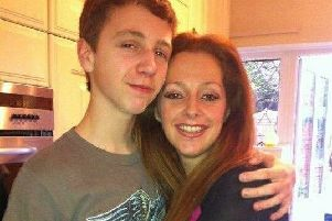 Liam Poole and his mum Lottie Berwick SUS-191022-124651001