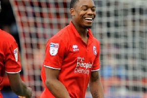 Crawley Town's Ashley Nathaniel-George. Picture by Steve Robards
