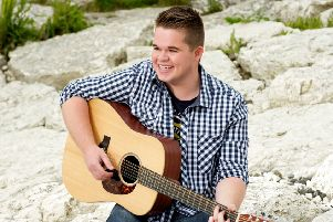 Local singer Ben hits the right notes