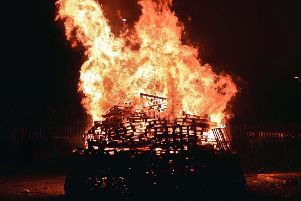 Bonfires are a contentious issue in many areas of Northern Ireland. (Archive pic by Pacemaker Press)