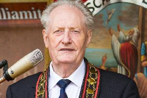 Royal Black Sovereign Grand Master Millar Farr is to stand down after 10 years in the position