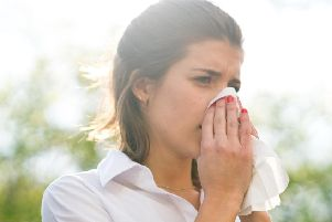 Hay fever symptoms flaring up?