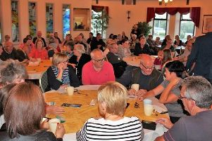 Public turnout in support of 'Maghera Park'
