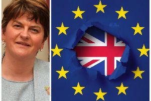 DUP leader, Arlene Foster, believes the Good Friday Agreement could be changed in order to make way for Brexit.