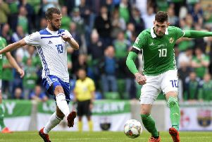 Kyle Lafferty is back in the Northern Ireland squad