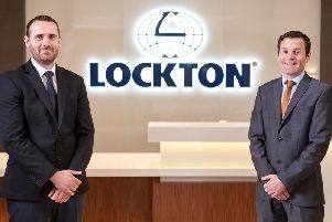 Brian Mullen and Kieran Hurley, Commercial Insurance Consultants, Lockton