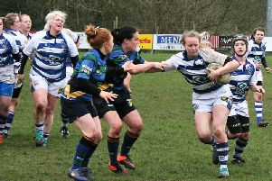 Dungannon were 37-0 winners against Lisburn in Women's Ulster Championship Division Two