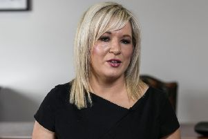 Sinn Fein deputy leader Michelle O'Neill. Photo Liam McBurney/PA Wire